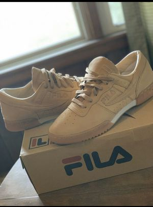 """I'm selling my fila's & my Forty P's Jordan's for the price of $130 Even May take $15 off HMU!!! Brand New & """"NO TRADE"""" selling them together For $130 for Sale in Murfreesboro, TN"""