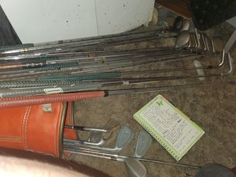 Vintage Golf clubs for Sale in Minco,  OK