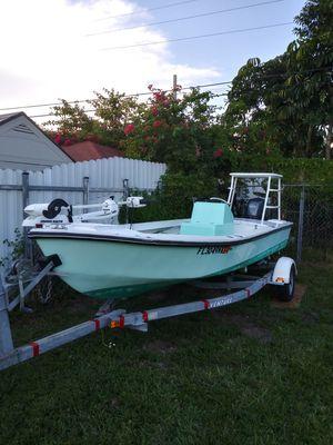 2005 MDZ Maryland Constr. Design 18 ft. Open Fisherman !!! 2010 Yamaha 60hp 4 Stroke !! + Trailer ! Miami. for Sale in North Miami Beach, FL