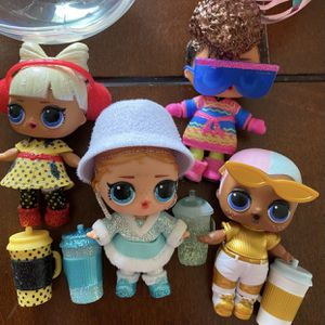 New LOL Dolls $30 For All Or Each For $10 for Sale in Palmdale, CA