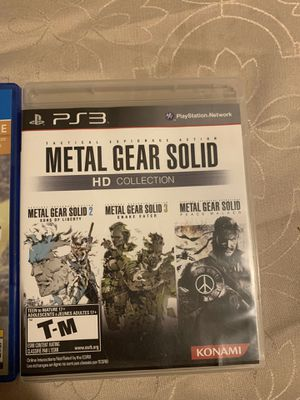 Metal gear solid PS3 for Sale in La Mirada, CA