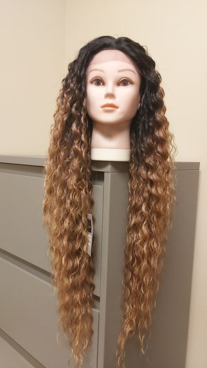 Ombre front lace primeum syntetic hair wig new #151 for Sale in Moreno Valley, CA