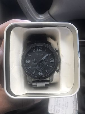 """FOSSIL """"Matte Black"""" watch for Sale in Frisco, TX"""