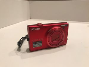 Nikon Coolpix s6100 digital camera for Sale in San Diego, CA