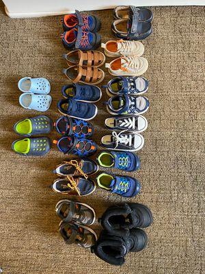 Little Boys Shoe Lot (Child sz 2/3 - 8 c) for Sale in Black Diamond, WA