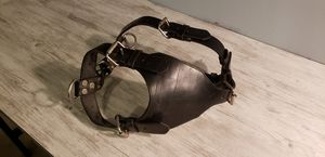 GENUINE LEATHER BLACK HARNESS GREAT CONDITION for Sale in Lakewood, CA