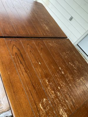 Kitchen/Dining Table with 6 chairs, Sturdy, FREE for Sale in Suitland, MD