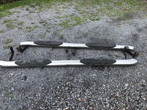 Nerf bars to fit 2012 Chevy 2500 (Black Horse) stainless steel for Sale in Mill Hall, PA