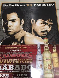 De La Hoya Vs Pacquiao for Sale in Perris,  CA