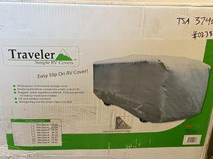 RV & camper cover - traveler brand slip on tarp covers 37' - 40' NEW for Sale in Carol Stream, IL