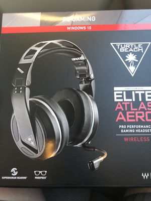 Turtle Beach Elite Atlas Pro Performance PC Gaming Headset - Black for Sale in CONCORD FARR, TN