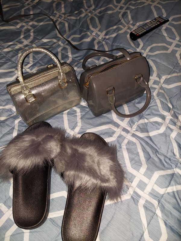Set Slide and mini purse