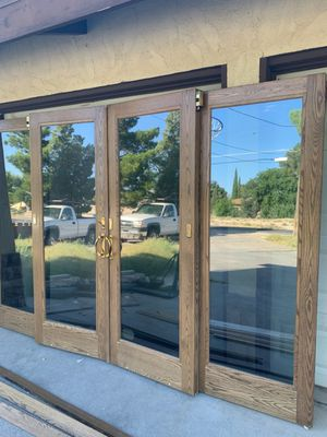 $4500 ANDERSEN 4 PANEL GLIDING PATIO DOORS for Sale in Las Vegas, NV
