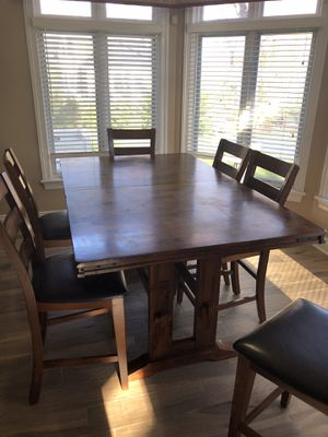 Kitchen Table with 10 Chairs for Sale in Marlboro Township, NJ