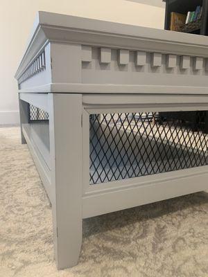 Sturdy Farmhouse Coffee Table with Shelf for Sale in Franklin, TN
