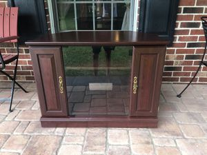 Wood TV Stand for Sale in Reston, VA