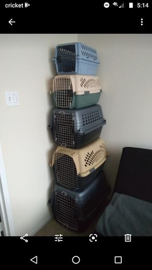 Dog and Cats Crates Various Sizes for Sale in Alexandria, VA