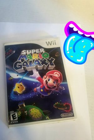 Super mario galaxy Nintendo wii + wii u for Sale in Chicago, IL