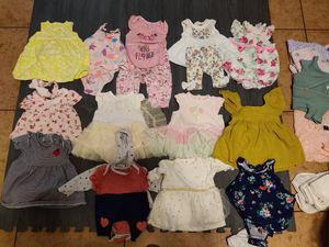 6 Months Clothes Dresses and Onesies for Sale in Fresno, CA