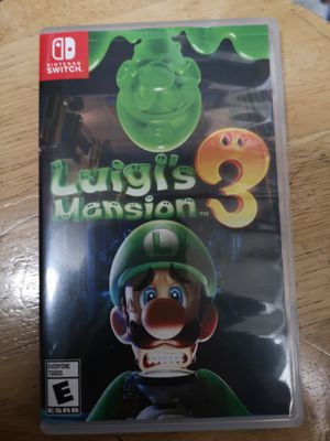 Luigi's Mansion 3 Nintendo Switch for Sale in Los Angeles, CA