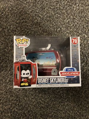 Funko POP Rides Disney Parks Exclusive Disney Skyliner with Mickey Mouse for Sale in Fresno, CA