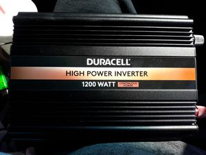 Duracell 1200w power inverter for Sale in Victorville, CA