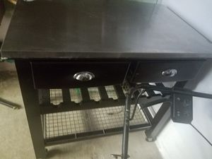 Kitchen island/ wine rack for Sale in South Park Township, PA