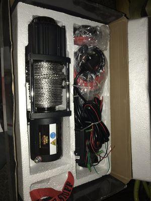 Tuff stuff Xtream 4500lb winch for Sale in Riverside, CA