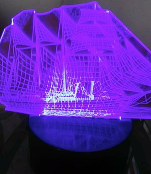 3D sailboat night light for Sale in Cleveland, OH