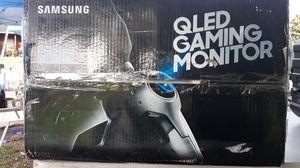 Samsung Qled gaming monitor curved 27in for Sale in Jonesboro, GA