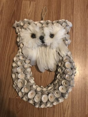 Owl hanging home decor for Sale in Kent, OH