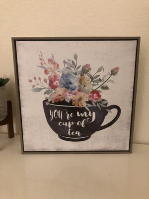 You're My Cup of Tea Wall Art for Sale in Richmond, VA