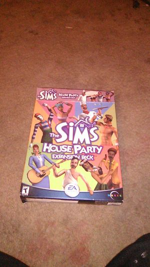 Sims house party expansion pack for Sale in Stockton, CA