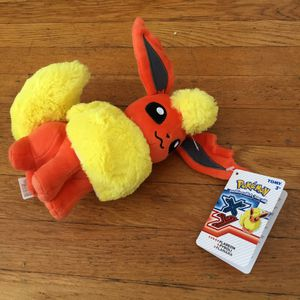Nintendo Pokemon Flareon fire Pokeman stuffed animal toy for Sale in San Leandro, CA