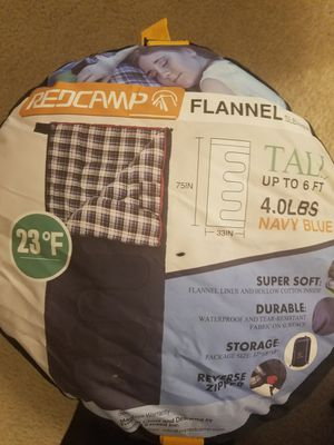 Brand New Flannel Sleeping Bag for Sale in Hermitage, TN