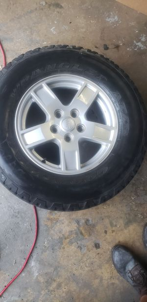 "4 wheel and tire jeep Wrangler 17"" for Sale in LAUD BY SEA, FL"