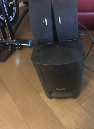 Set of Bose surround sounds speakers for Sale in Yorba Linda, CA