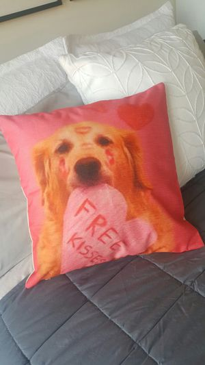 New! Dog Deco Pillow Couch Bed Chair Perfect Gift Necklace Jewerly for Sale in Norridge, IL