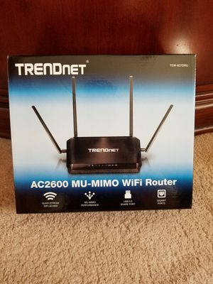 Best Router You Can Get! AC2600 MU-MIMO for Sale in Salem, VA