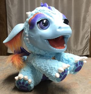 FurReal Friends Blue Interactive Toy Pet Dragon for Sale in Martinsville, IN