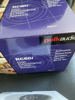 polk audio RC60i for Sale in Woodbury, NJ