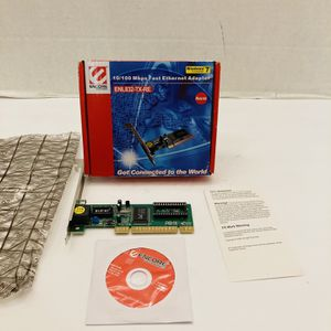 Encore ENL832-TX-RE 10/100Mbps Fast Ethernet PCI Adapter for Sale in Spring Hill, FL