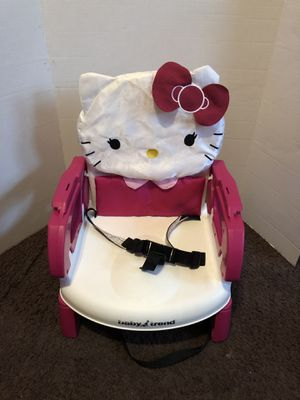 Hello kitty portable high chair for Sale in Cleveland, OH
