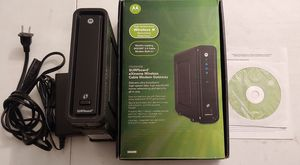 Motorola surfboard sbg6850 modem router for Sale in San Gabriel, CA