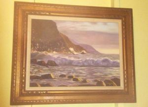 Large Framed Oil Painting for Sale in Boston, MA