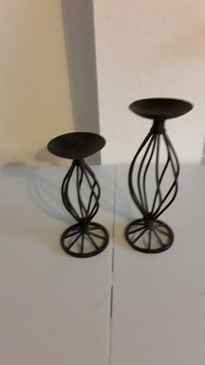 Wrought Iron Candle Holders for Sale in Lake Worth, FL