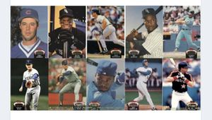 1992 Stadium club complete set baseball cards consists of 900 cards for Sale in White Plains, NY