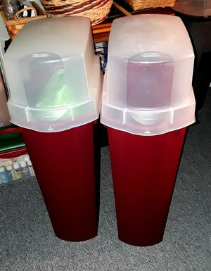 2 bins for wrapping paper for Sale in Clearwater, FL