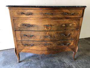 Antique dresser with granite top for Sale in Santa Ana, CA
