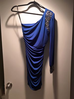 ONE SHOULDER BLUE DRESS SIZE SMALL for Sale in Glendale, CA